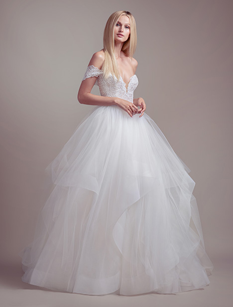 Charm gown from the 2019 Blush by Hayley Paige collection, as seen on Bride.Canada