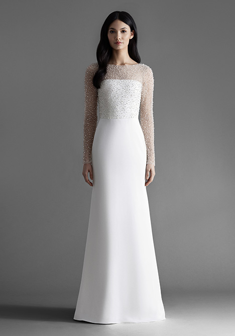 Alexa (4902) gown from the 2019 Allison Webb collection, as seen on Bride.Canada