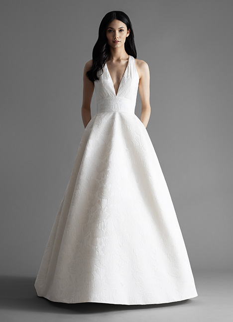 Rose (4905) gown from the 2019 Allison Webb collection, as seen on Bride.Canada