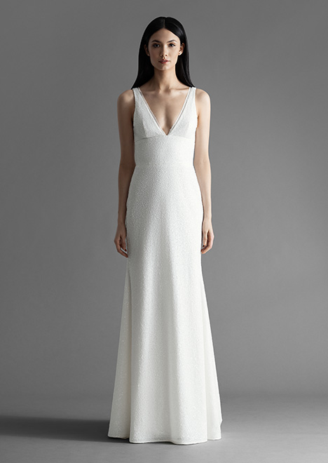 Brinlee (4911) gown from the 2019 Allison Webb collection, as seen on Bride.Canada