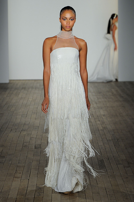 Tabitha gown from the 2019 Allison Webb collection, as seen on Bride.Canada