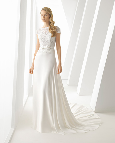 DAMON (3A113) gown from the 2019 Rosa Clara collection, as seen on Bride.Canada