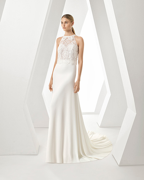 DAN (3A114) gown from the 2019 Rosa Clara collection, as seen on Bride.Canada