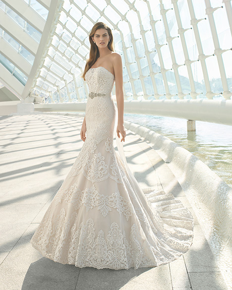 DECORO (3A146) gown from the 2019 Rosa Clara collection, as seen on Bride.Canada