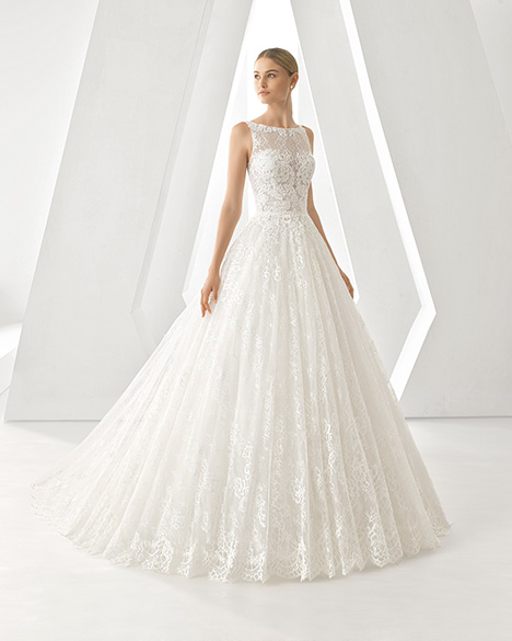 DEREK (3A163) gown from the 2019 Rosa Clara collection, as seen on Bride.Canada