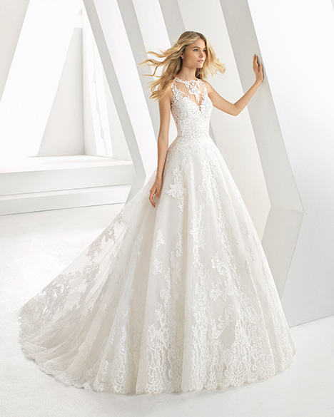 DESEO (3A164) gown from the 2019 Rosa Clara collection, as seen on Bride.Canada