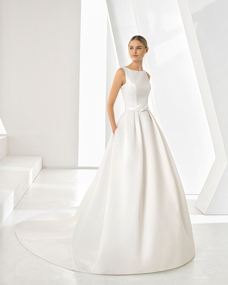 DOROTHY (3A1A9) gown from the 2019 Rosa Clara collection, as seen on Bride.Canada