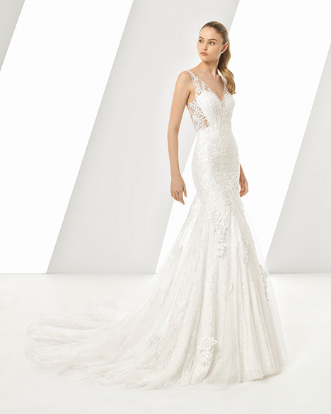 DASTON (3A229) gown from the 2019 Rosa Clara collection, as seen on Bride.Canada