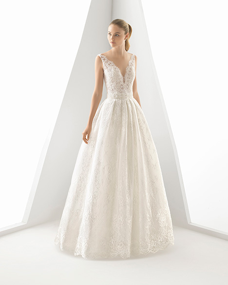 DELIS (3A252) gown from the 2019 Rosa Clara collection, as seen on Bride.Canada