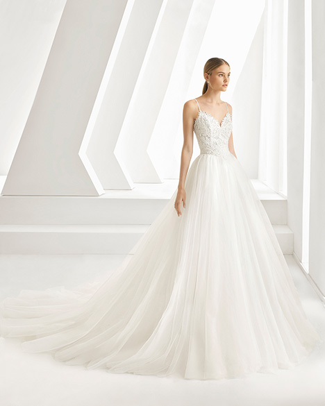 DIGNA (3A273) gown from the 2019 Rosa Clara collection, as seen on Bride.Canada