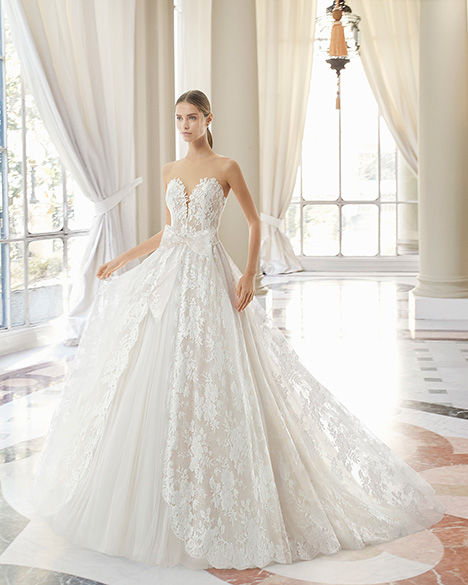 MADELEINE (31101) gown from the 2019 Rosa Clara Couture collection, as seen on Bride.Canada