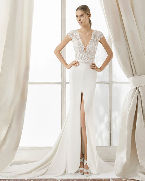 MADRAS (31104) gown from the 2019 Rosa Clara Couture collection, as seen on Bride.Canada