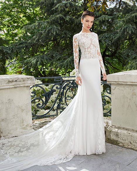 MALORY (31118) gown from the 2019 Rosa Clara Couture collection, as seen on Bride.Canada
