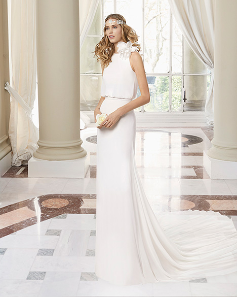 MANHATTAN (31224) gown from the 2019 Rosa Clara Couture collection, as seen on Bride.Canada