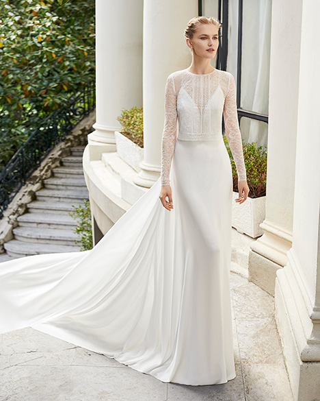 MISTERIO (31272) gown from the 2019 Rosa Clara Couture collection, as seen on Bride.Canada