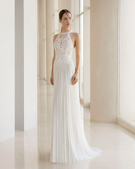 KEIRA (3K127) gown from the 2019 Rosa Clara: Soft collection, as seen on Bride.Canada
