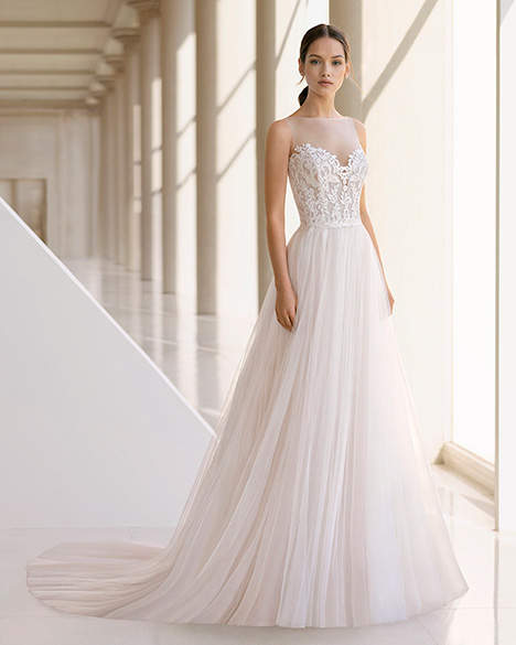 KERR (3K133) gown from the 2019 Rosa Clara: Soft collection, as seen on Bride.Canada