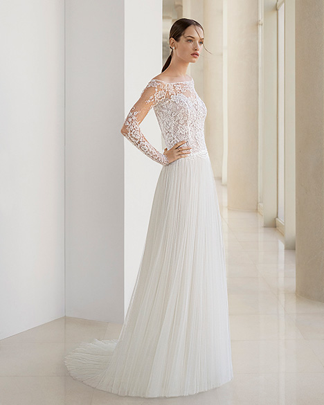 KETZA (3K136) gown from the 2019 Rosa Clara: Soft collection, as seen on Bride.Canada