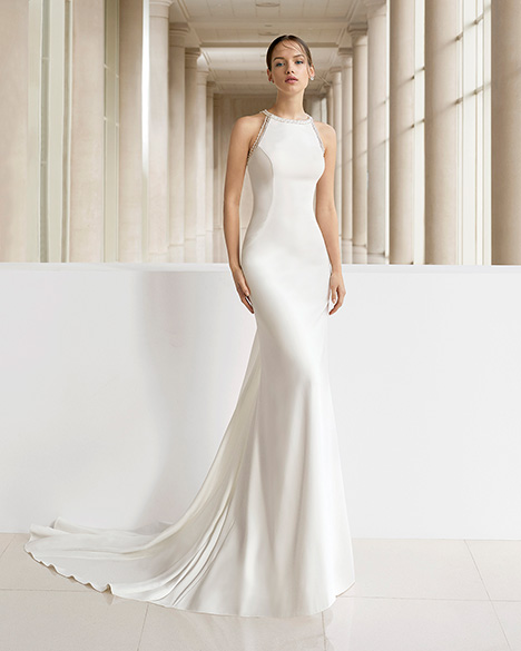 KIGAL (3K140) gown from the 2019 Rosa Clara: Soft collection, as seen on Bride.Canada