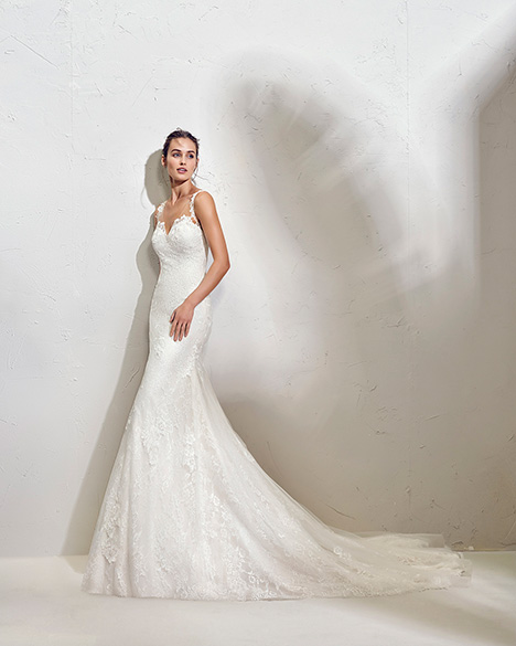 FALIB (3N105) gown from the 2019 Adriana Alier collection, as seen on Bride.Canada