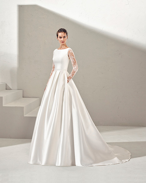 FULL (3N166) gown from the 2019 Adriana Alier collection, as seen on Bride.Canada
