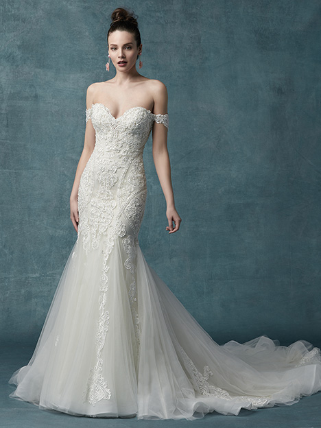 Quincy gown from the 2019 Maggie Sottero collection, as seen on Bride.Canada