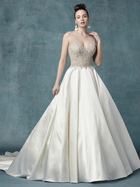 Sophronia gown from the 2019 Maggie Sottero collection, as seen on Bride.Canada