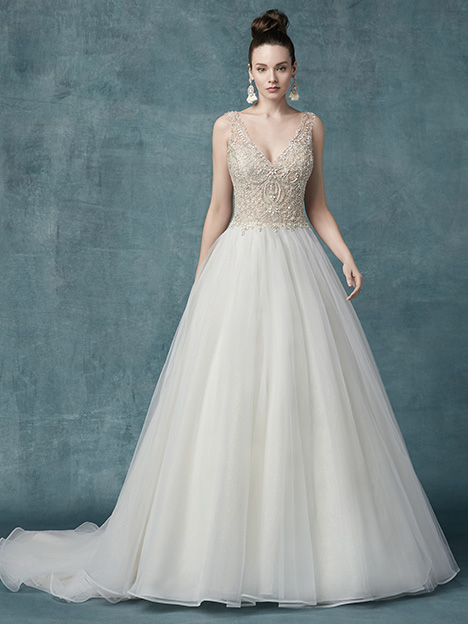 Sophronia Marie gown from the 2019 Maggie Sottero collection, as seen on Bride.Canada