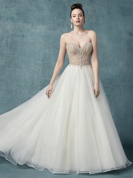 Zabella gown from the 2019 Maggie Sottero collection, as seen on Bride.Canada