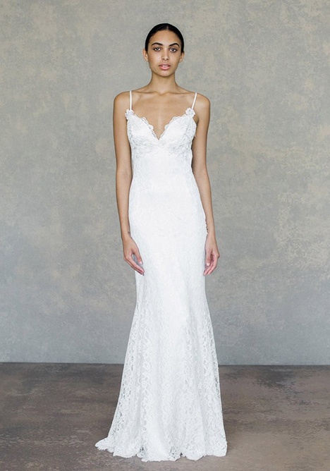 Caravan gown from the 2019 Claire Pettibone: Couture collection, as seen on Bride.Canada