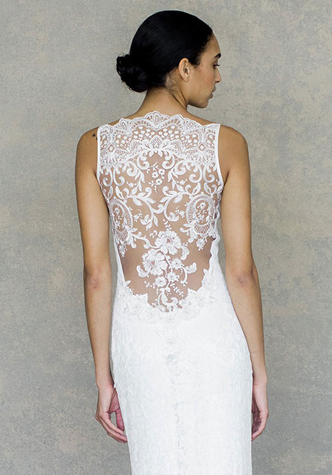 Caravan (back) gown from the 2019 Claire Pettibone: Couture collection, as seen on Bride.Canada