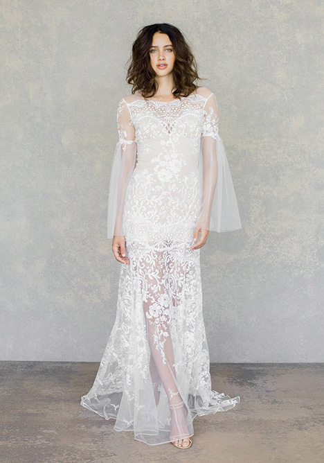 Sahara gown from the 2019 Claire Pettibone: Couture collection, as seen on Bride.Canada