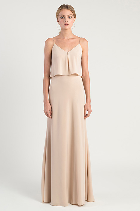 Brie gown from the 2019 Jenny Yoo Bridesmaids collection, as seen on Bride.Canada