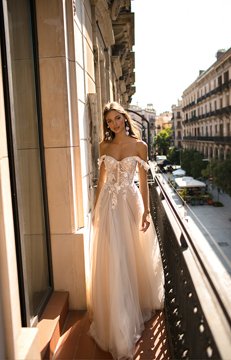 Diana gown from the 2019 Muse by BERTA collection, as seen on Bride.Canada