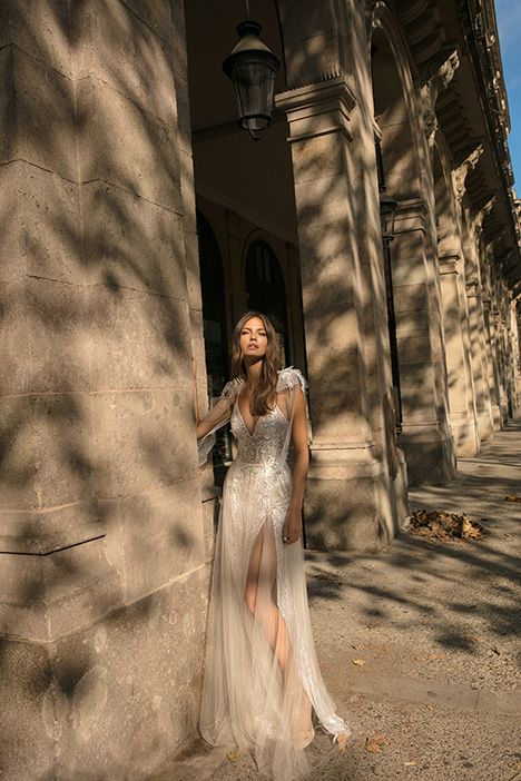 Diane gown from the 2019 Muse by BERTA collection, as seen on Bride.Canada