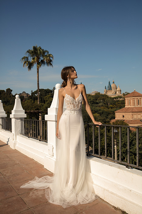 Dinara gown from the 2019 Muse by BERTA collection, as seen on Bride.Canada