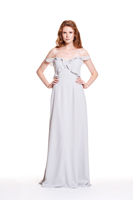 1909 gown from the 2019 Bari Jay Bridesmaids collection, as seen on Bride.Canada