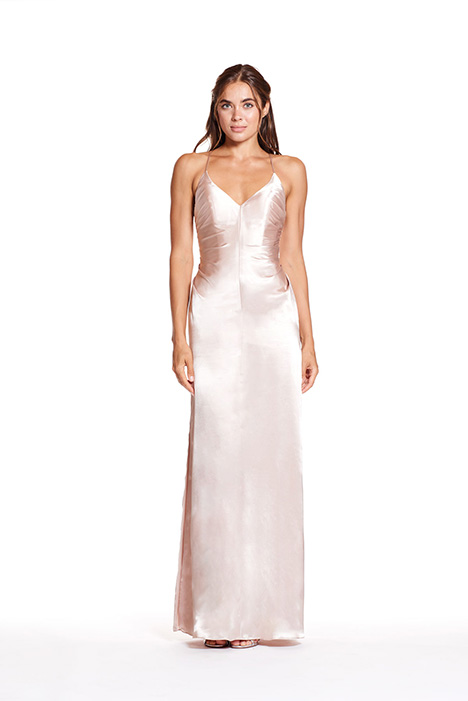 1913 gown from the 2019 Bari Jay Bridesmaids collection, as seen on Bride.Canada