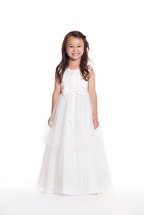 F0619 gown from the 2019 Bari Jay: Flower Girls collection, as seen on Bride.Canada