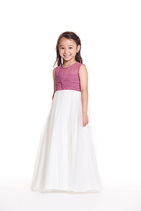 F0819 gown from the 2019 Bari Jay: Flower Girls collection, as seen on Bride.Canada