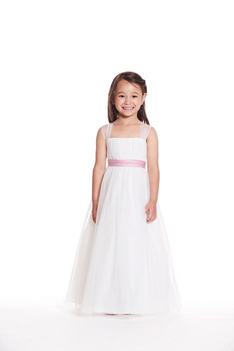 F1019 gown from the 2019 Bari Jay: Flower Girls collection, as seen on Bride.Canada