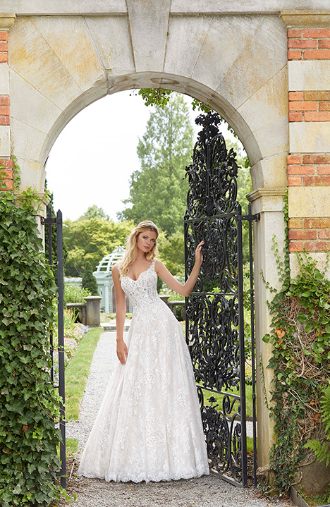 gown from the 2019 Morilee Bridal collection, as seen on Bride.Canada
