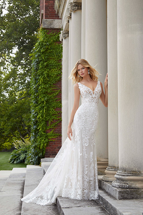 2039 gown from the 2019 Morilee Bridal collection, as seen on Bride.Canada