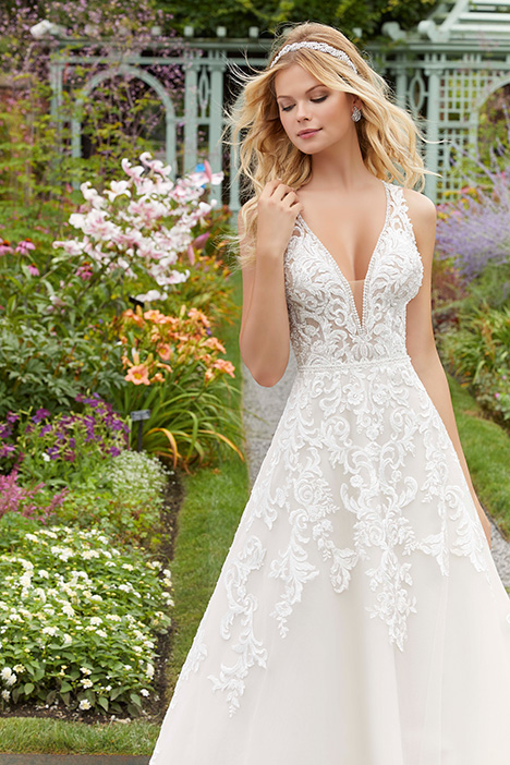 2041 gown from the 2019 Morilee Bridal collection, as seen on Bride.Canada