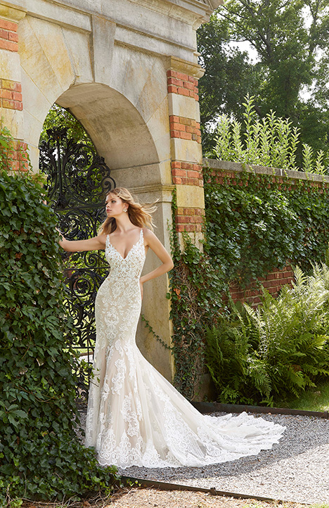 2043 gown from the 2019 Morilee Bridal collection, as seen on Bride.Canada