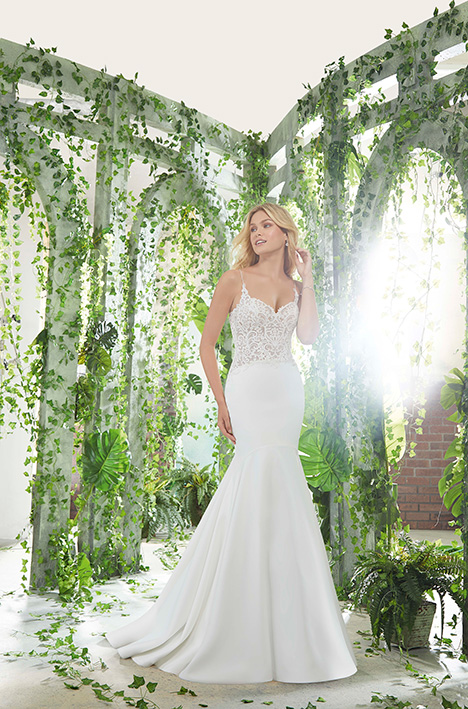 6901 gown from the 2019 Morilee Voyagé collection, as seen on Bride.Canada