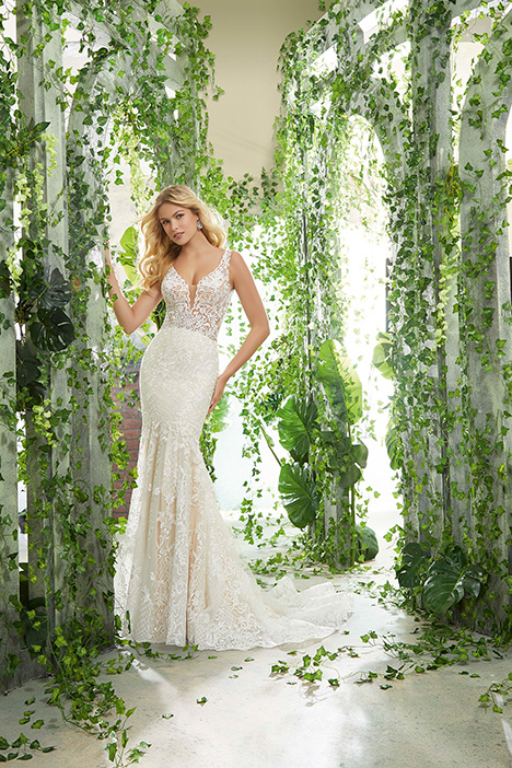 gown from the 2019 Morilee Voyagé collection, as seen on Bride.Canada