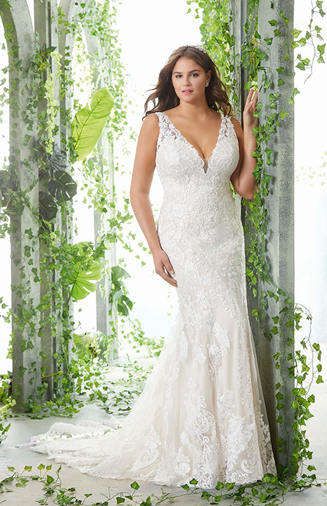 3257 gown from the 2019 Morilee Julietta collection, as seen on Bride.Canada