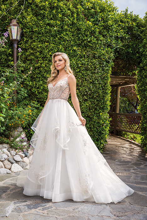 Ava gown from the 2019 Casablanca Bridal collection, as seen on Bride.Canada