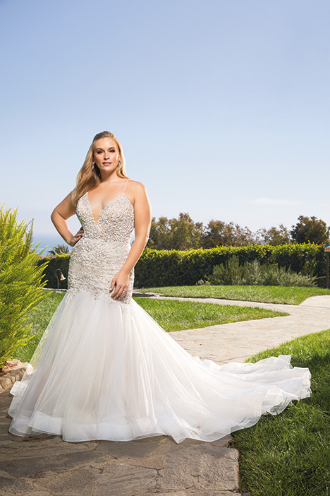 Clara + gown from the 2019 Casablanca Bridal collection, as seen on Bride.Canada